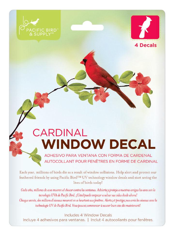 Window Decal Hummingbird PB   Pacific Bird And - Window alert decals for birds